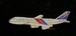 Flying Tigers Airlines 747 Lapel Hat Pin Up Tie Tac Air Cargo Freight Gift Wow
