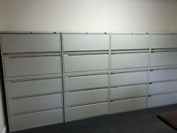 """Filing Cabinets, """"global"""" Brand. Perfect Condition. 500 Each, Local Pick Up"""