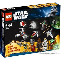 Lego Star Wars 7958 Advent Calendar - Authentic Factory Sealed Brand New