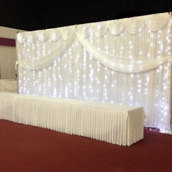 20 Ft X 10 Ft Photography Backdrop Drapes Curtains Wedding Baby Shower Birthday