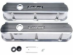 Edelbrock Engine Valve Cover Set Fits Ford Galaxie 500 1963-1974 77cwmy