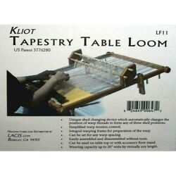 Lacis Kliot Table Tapestry Loom 20quot; New
