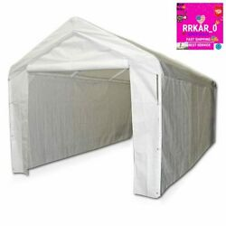 Caravan Canopy 0 Side Wall Kit For Domain Carport White One Size