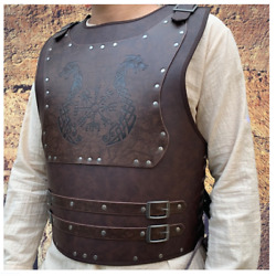 Medieval Viking Armour Cuirass Viking Breastplate Cosplay Norse Mythology
