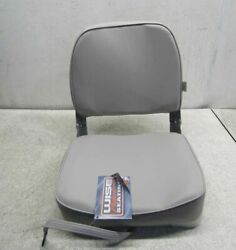 Wise Company Low Back Boat Seat 3313-717 Grey