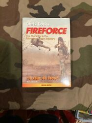 Fire Force-chris Cocks Autographed By Author One Man's War In Rhodesian Army