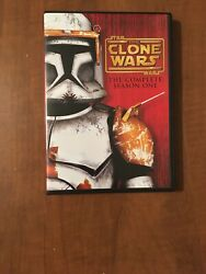 Star Wars The Clone Wars - The Complete Season One Dvd, 2011, 4-disc Set