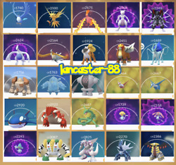 Legendary Pokemon See Picture GO 🌟High Lucky Chance🌟 Fast delivery 🏃 ✅ $15.00