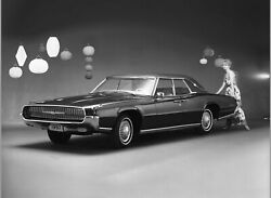 1967 Ford Thunderbird, 24 X 36 Inch Poster,