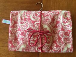 NWT Hanging Cosmetic Storage Bag Paisley Print Many Compartments Travels $9.99