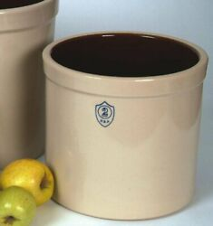 Ohio Stoneware Numbered Pickling And Fermenting Crock 2 Gallon
