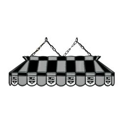 Nhl Los Angeles La Kings Stained Glass 40 Pool Table Light-new-made In U.s.a.