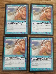 Fatigue X1 Urza's Destiny Ed Signed In Black By Jeff Miracola Mtg