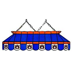 Ncaa Auburn Tigers Stained Glass 40 Pool Table Light - New - Made In U.s.a.