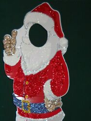 Life Size Santa Poser 5ft 6in, Put A Face In Here To Remember, Picture Perfect
