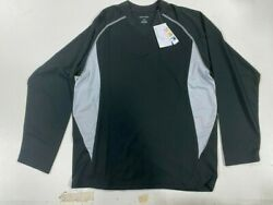 Long Sleeve Dryfit North End Black/silver Style 88158 Lot 810 Pc. Total