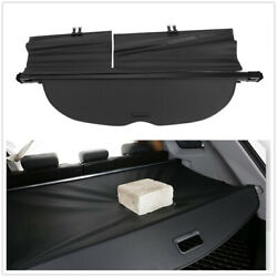 Black Rear Trunk Security Shield Cargo Cover Shade For 2015-19 Nissan Murano Us