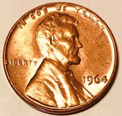 Rare 1964 Lincoln Cent Penny With No Mint Mark