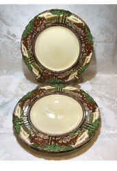 Myott Son And Co Staffordshire England's Countryside Luncheon Plate,set 4
