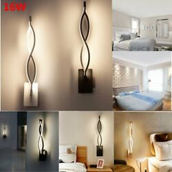 16W Modern LED Wall Light Aisle Bedroom Wall Sconce Lamp Fixtures Vanity Lights