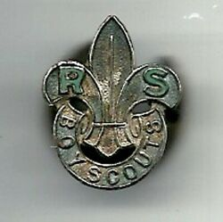1920's - United Kingdom - Boy Scouts - Rover Scouts - 2nd Pattern Lapel Badge