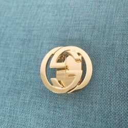Gucci Gold Belt Buckle with G Logo Details $98.99