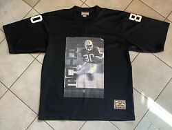 Oakland Raiders Jerry Rice Player Of The Century By Jeff Hamilton Jersey