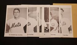 1962 Jay Publishing Co. Photo Team Pack Of 11 New York Mets Vintage Hodges Craig