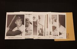 1962 Jay Publishing Co. Photo Pack Of 13 Los Angeles Angels Team Vintage Photos