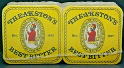 Theakstonand039s Best Bitter/ales Bar Coasters 100 Sealed
