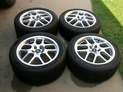 Oem Ford New Takeoff 2007 2008 2009 Mustang Shelby Wheels + Tires Gt500 Nos