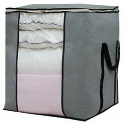Large Foldable Storage Bag Organizer Clothes Container For Blanket Comforter