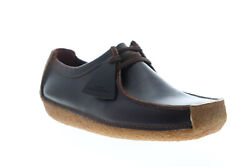 Clarks Natalie 26134201 Mens Brown Leather Loafers And Slip Ons Casual Shoes