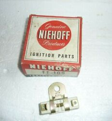 1958 1959 Ford Lincoln Mercury Edsel Thunderbird Ignition Coil Resistor Nos S-6