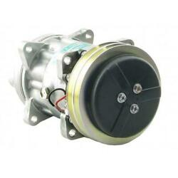 883782613 Genuine Sanden Sd7h15 Compressor, W/ 2 Groove Clutch - New Fits Claas
