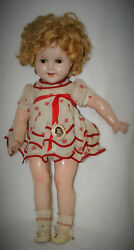 Vintage Shirley Temple Composition Doll By Ideal18