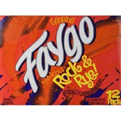 Faygo - Rock And Rye Soda - 12 Pack Of 12-oz. Cans