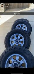 Off Road Used 35x12.50 Tires And 17 Inch Rims For Sale 8x6.5 Lug Pattern