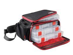 Abu Garcia New Mobile Lure Fishing Bag - With 4 Tackle Boxes - 1530847