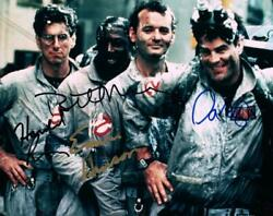 Dan Aykroyd Murray Ramis Hudson Signed 8x10 Photo Autographed Picture With Coa
