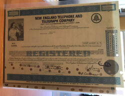 The New England Telephone And Telegraph Company 10000 40 Yrs Bond 6 Issue 1975
