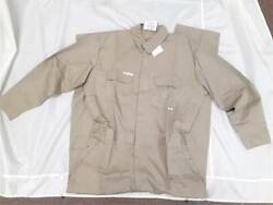 Topps Safety Apparel Fr Mens Beige Coveralls Cc0322950 48/tal
