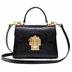 Ladies Crossbody Handbags Lizard Pattern Leather Shoulder Tote Purse Mini $119.95