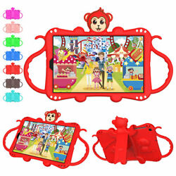 For Samsung Galaxy Tab A 8.0 10.1 8.4 Full Body Case Kids Strap Stand Cute Cover $15.22