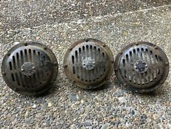 Mercedes Bosch 6 6 Inch Horns Lot Of 3 W100 W111 W112 W113 W109 W108 2 Working