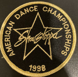 Star Stopper American Dance Championships 1998 Embroidery Patch J6
