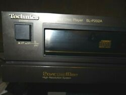 Technics Cd Player Pl202a. Needs Service. Great Quality. Super Low Price