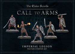 The Elder Scrolls Call To Arms Plastic Imperial Faction Starter Set New And Sealed