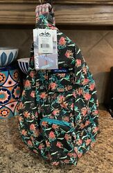 """NEW w TAGS • KAVU ROPE BAG """"SPARKLERS"""" •Sling Backpack Purse Daypack Crossbody $30.00"""