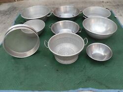 Large Commercial Heavy Duty Colander Sifter Various Sizes Of Salad/food Mixers
